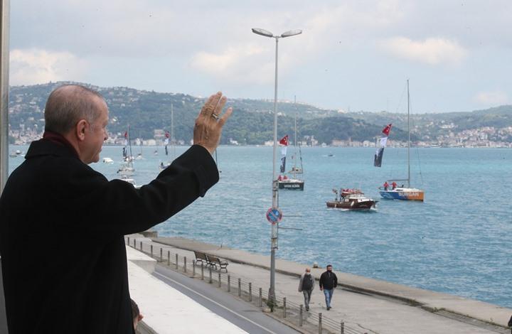 مسير بحري احتفالا بذكرى فتح إسطنبول بحضور أردوغان (شاهد)