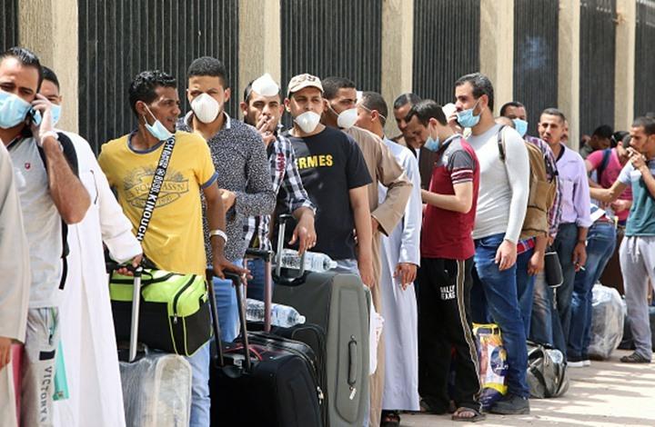 بعد شغب واحتجاجات.. مصر تبدأ إعادة آلاف العالقين بالكويت