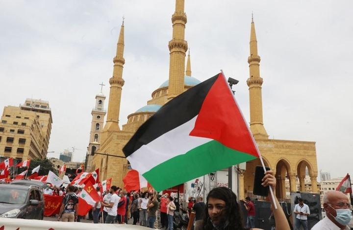 مظاهرات حاشدة في مدن لبنانية تضامنا مع القدس (شاهد)