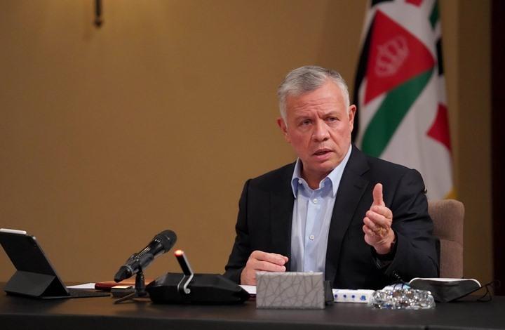 """ملك الأردن يغرّد دعما للفلسطينيين.. """"اللهم اشدد من أزرهم"""""""