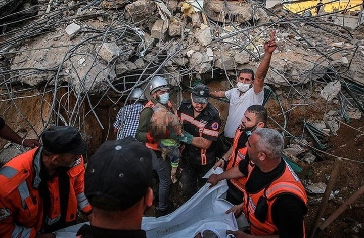 منظمة حقوقية: قصف إسرائيل العنيف لغزة ينذر بنوايا خطيرة