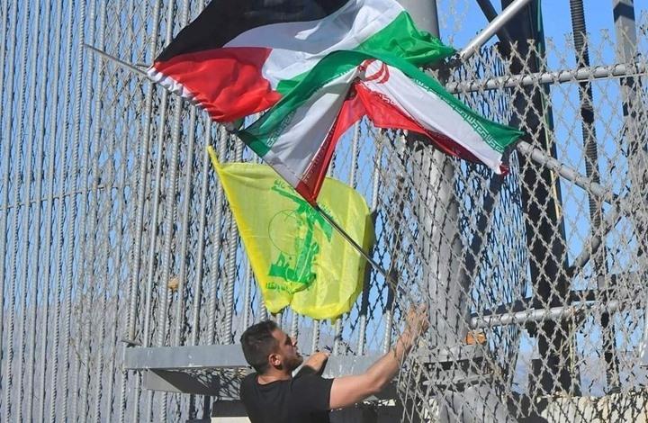 الاحتلال يطلق النار نحو لبنانيين حطموا كاميرات مراقبة (شاهد)