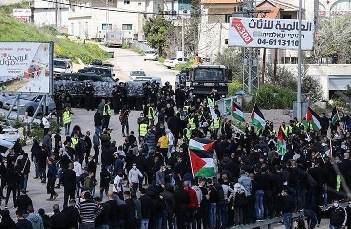 آلاف الفلسطينيين في الـ48 يتظاهرون دعما للقدس وغزة (شاهد)