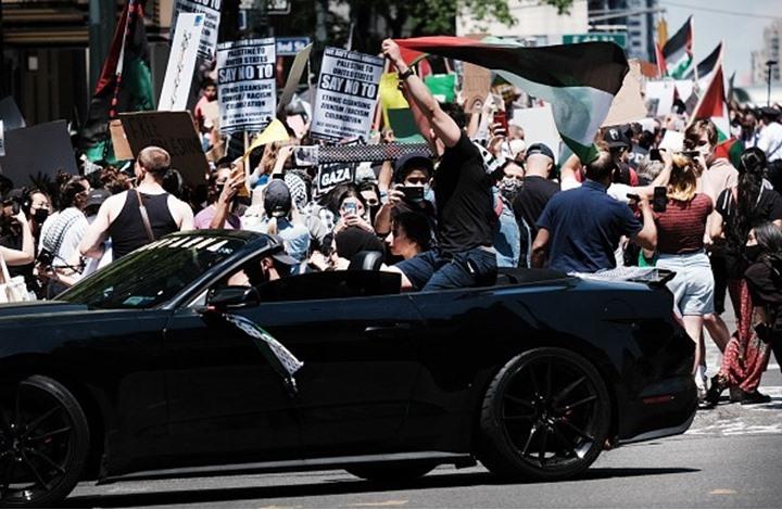 مسيرات حاشدة بعدة مدن حول العالم نصرة لفلسطين (شاهد)