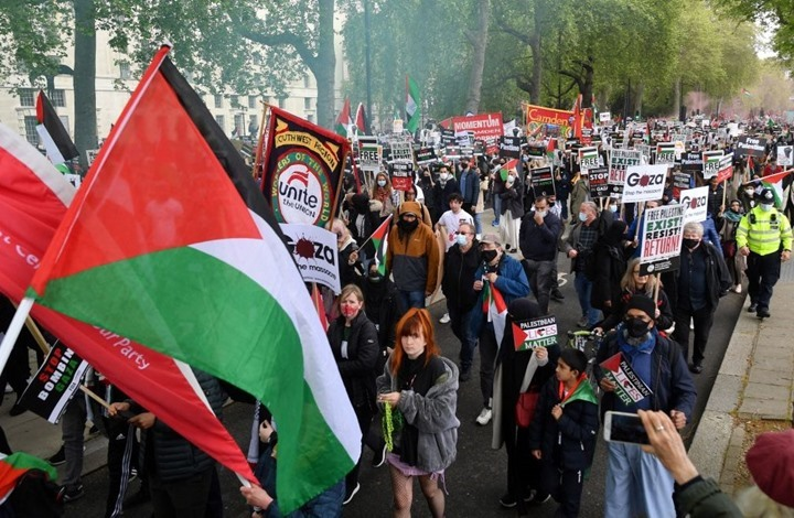 قناة بريطانية تعرض حلقات يومية حول فلسطين