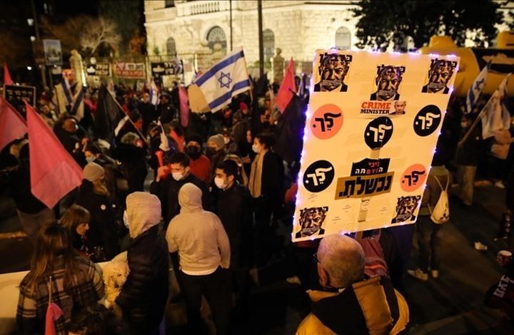 """""""معاريف"""": إسرائيل تعيش أزمة تاريخية وعلى شفا حرب أهلية"""