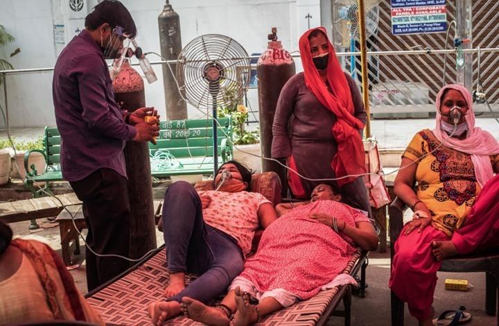 أزمة كورونا تتفاقم بالهند.. وشحنات غاز مسال تبتعد عنها