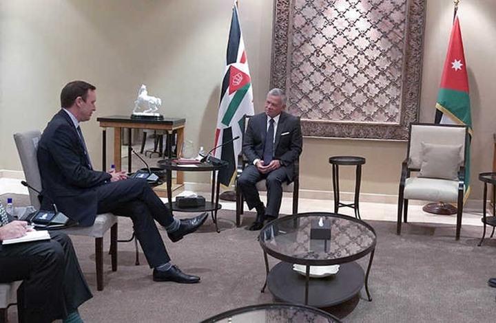 وفد أمريكي رفيع يلتقي ملك الأردن ويبحث ملف المفاوضات