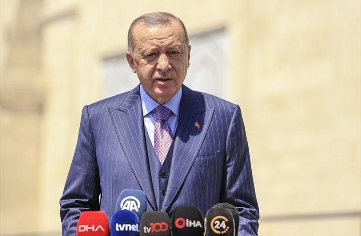 أردوغان: نتطلع لاستعادة الوحدة مع شعب مصر ومواصلتها