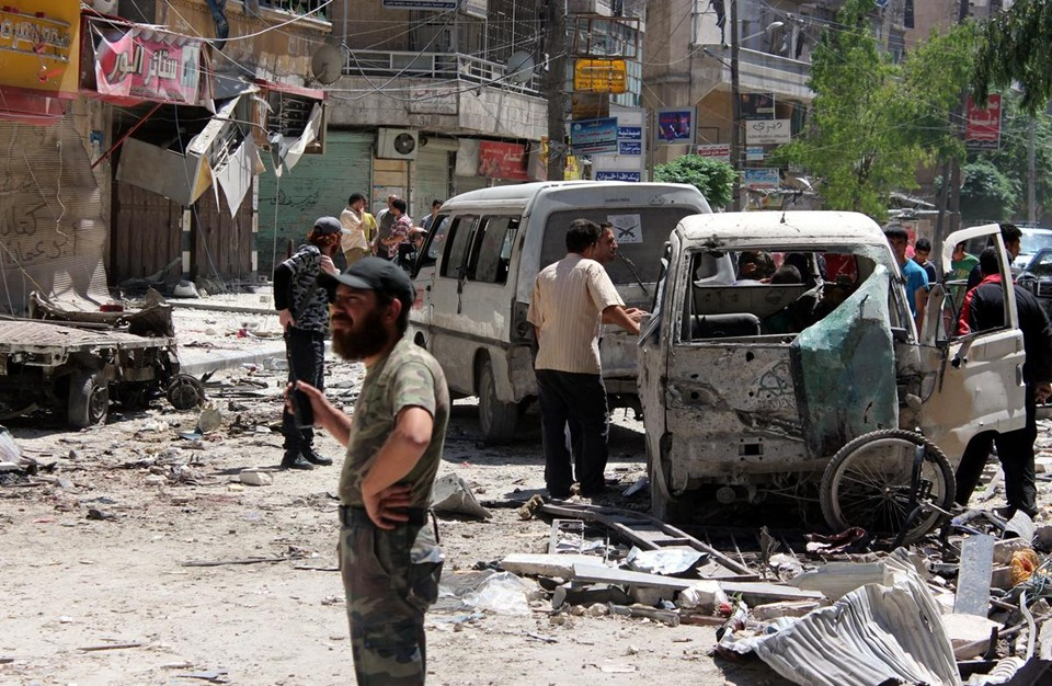 رقم صادم للبراميل المتفجرة التي ألقاها النظام السوري بـ2017
