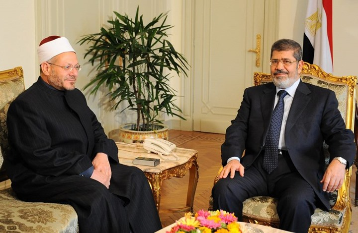 """موقع مصري: مفتي النظام """"علام"""" وافق على إعدام مرسي"""