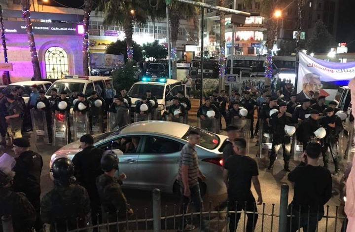 """""""هيومن رايتس"""" تتهم أمن السلطة الفلسطينية بجرائم ضد الإنسانية"""