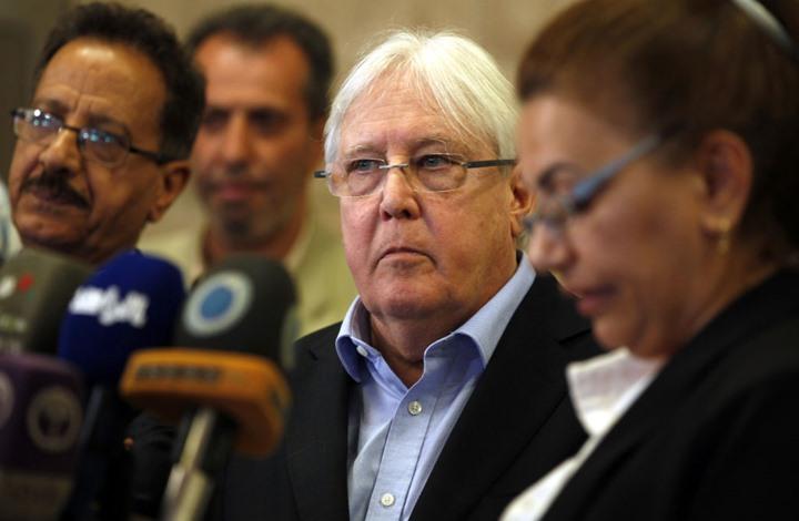 المبعوث الأممي لليمن يصل صنعاء لبدء محادثات حول الحديدة