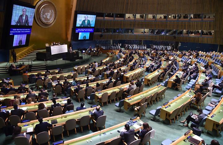 قرار أممي يطالب الاحتلال بوقف استغلال موارد فلسطين والجولان