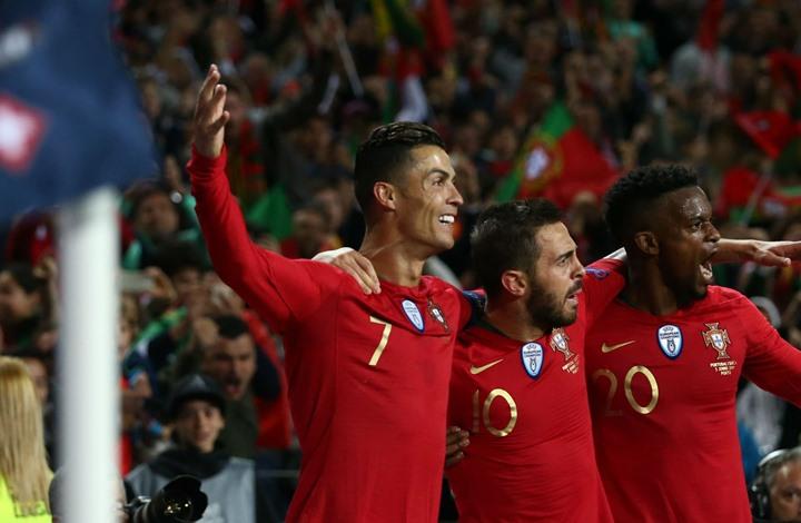منتخب البرتغال يتوج بدوري الأمم الأوروبية في نسخته الأولى