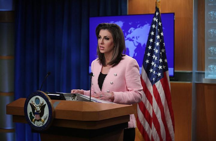 """""""الخارجية الأمريكية"""": هذا هو الحل الوحيد لإنهاء أزمة إيران"""