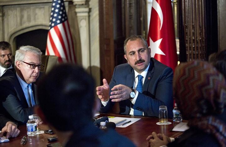 """وزير العدل التركي: قدمنا لواشنطن أدلة جديدة لـ""""تسليم غولن"""""""
