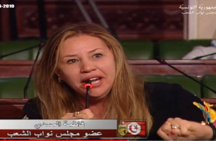 برلمانية تونسية ترفض الترحم على مرسي بالبرلمان (شاهد)