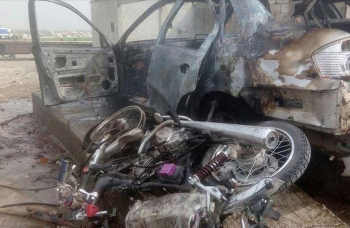مقتل 14 مدنيا في تفجير بأعزاز السورية