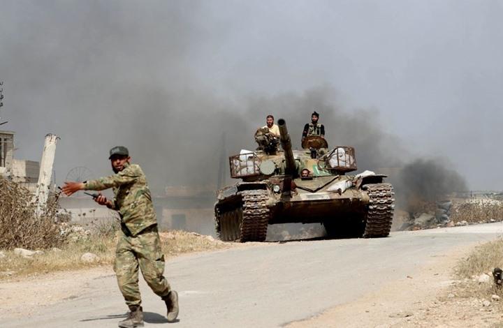 اشتداد معارك ريف حماة.. والمعارضة: قواتنا تتقدم (شاهد)