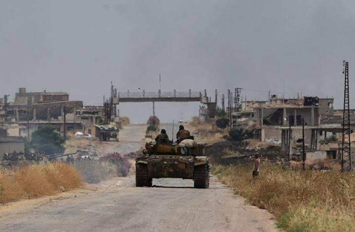 """قوات الأسد تقترب من السيطرة على بلدة """"الهبيط""""..هذه أهميتها"""