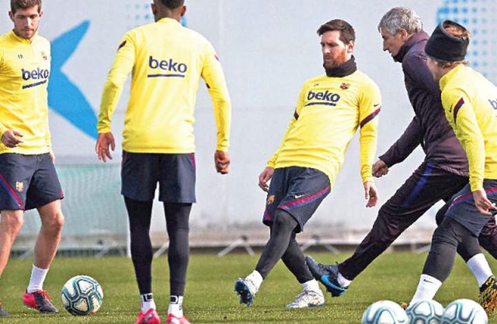 مفاجأة صادمة.. إصابة 5 لاعبين من برشلونة بفيروس كورونا