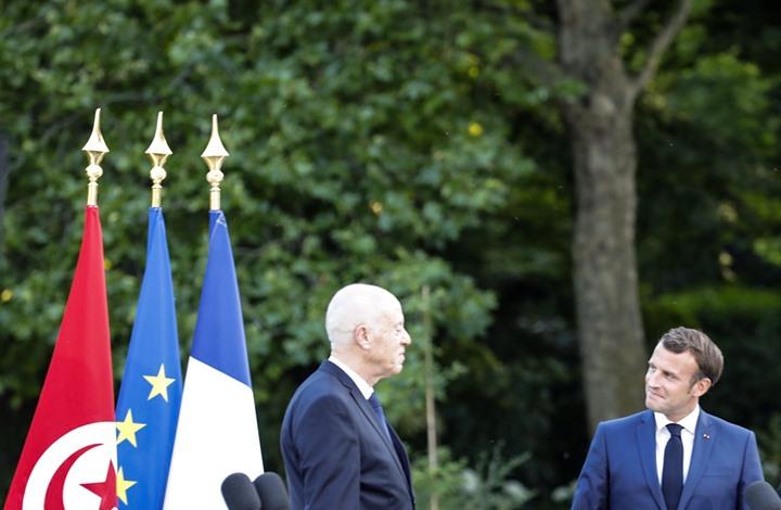 موقع فرنسي: ماكرون تعمد مهاجمة تركيا بحضور قيس سعيد