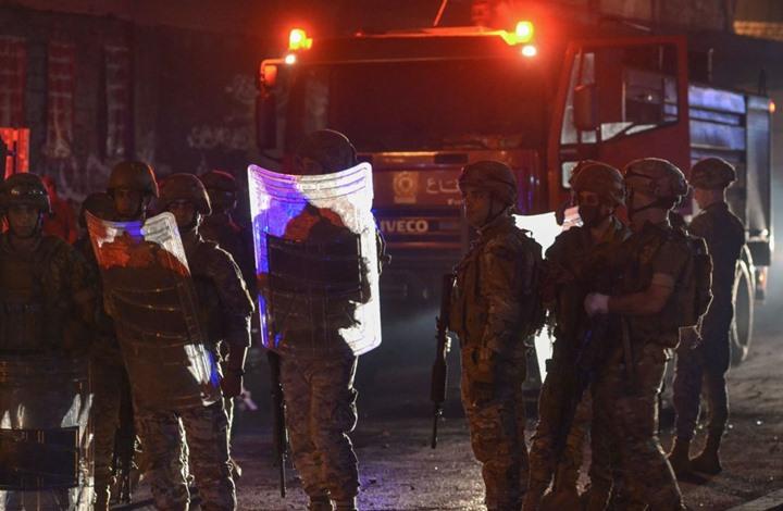 احتجاجات واسعة في لبنان ومشادات مع الأمن ببيروت (شاهد)