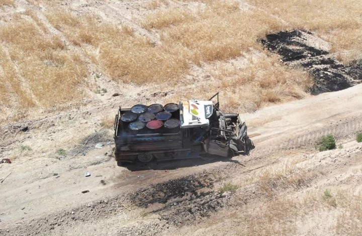 الدفاع التركية: إحباط هجوم بشاحنة مفخخة شمال سوريا (صور)