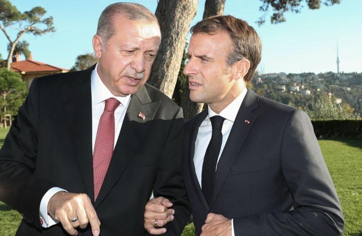 صحيفة تكشف كواليس اتصال مفاجئ بين أردوغان وماكرون