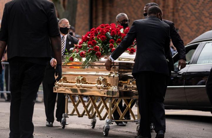 أمريكيون يشيّعون فلويد.. والكشف عن إصابته بكورونا (شاهد)