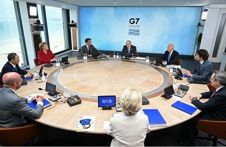 """بريطانيا تستضيف أول قمة حضورية لـ""""G7"""" منذ جائحة كورونا"""