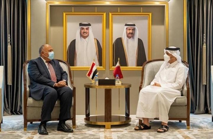 """تطورات """"إيجابية"""" بين مصر وقطر.. وشكري على الجزيرة (شاهد)"""