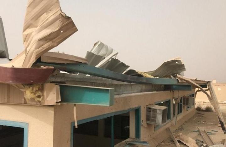 طائرة حوثية مفخخة تسقط فوق مدرسة في عسير