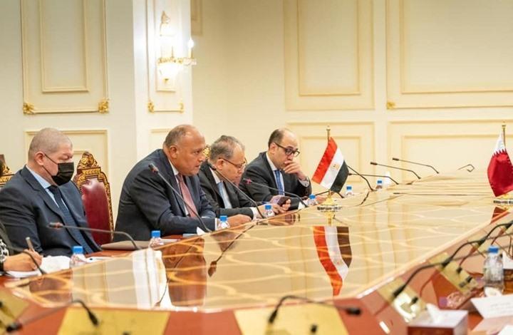 مصر تدعو من الدوحة إلى إطار زمني للتفاوض حول سد النهضة