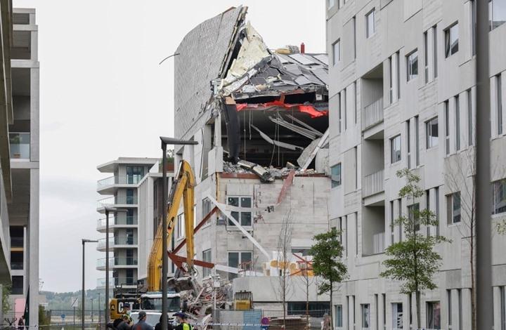 انهيار مدرسة في بلجيكا يسفر عن مصرع خمسة أشخاص وإصابة تسعة
