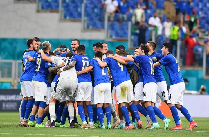 يورو 2021.. إيطاليا تنهي دور المجموعات متصدرة بأقل مجهود