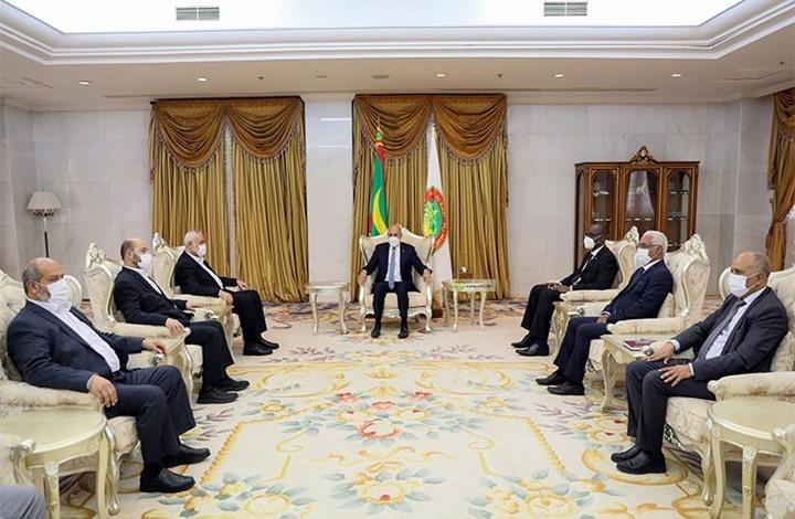 الرئيس الموريتاني يستقبل وفدا من حماس برئاسة هنية