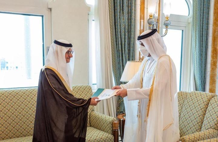 قطر تتسلم أوراق اعتماد أول سفير للسعودية بعد المصالحة (شاهد)