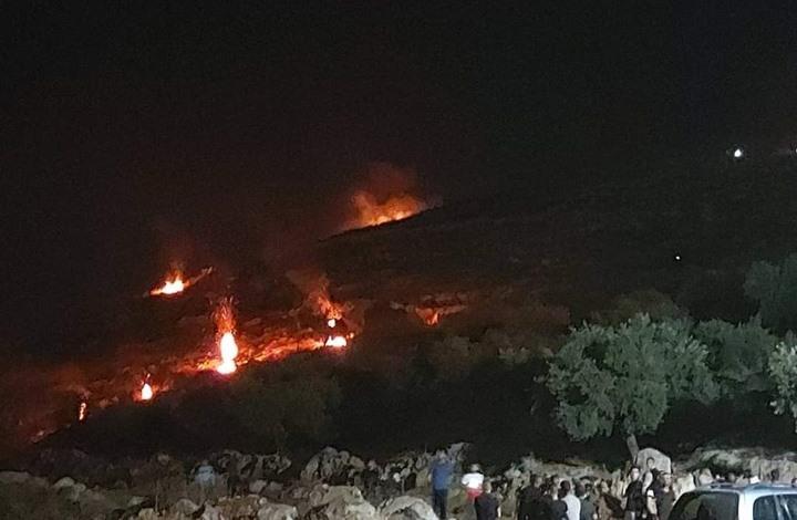 """""""بيت دجن"""" شرقي نابلس تستلهم """"الإرباك الليلي"""" من غزة"""