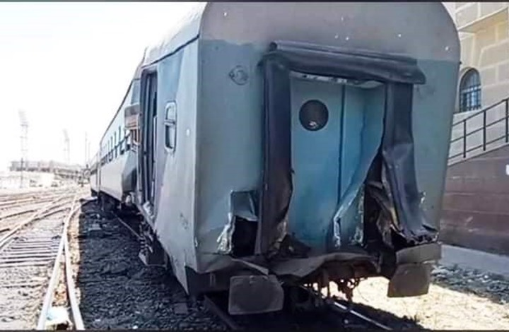 عشرات الجرحى في حادث تصادم قطار بالإسكندرية (شاهد)