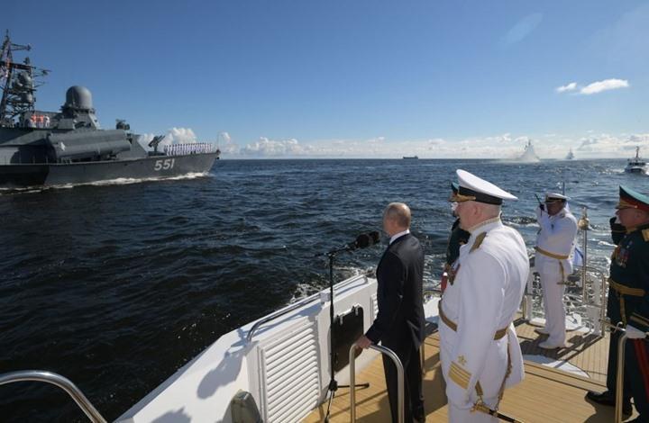 بوتين يتهم أمريكا وبريطانيا باستفزاز بلاده عسكريا