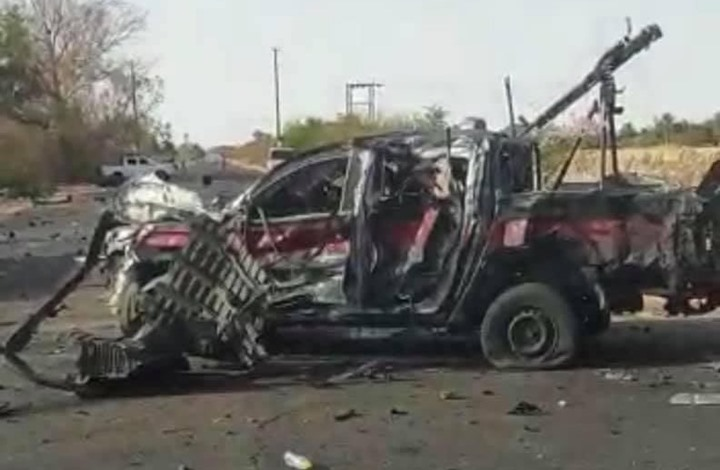 مقتل ضابطين ليبيين بهجوم انتحاري بسبها (شاهد)