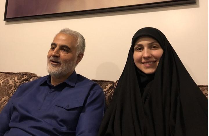 """""""نرجس"""" ابنة قاسم سليماني تترشح لانتخابات البلدية بطهران"""