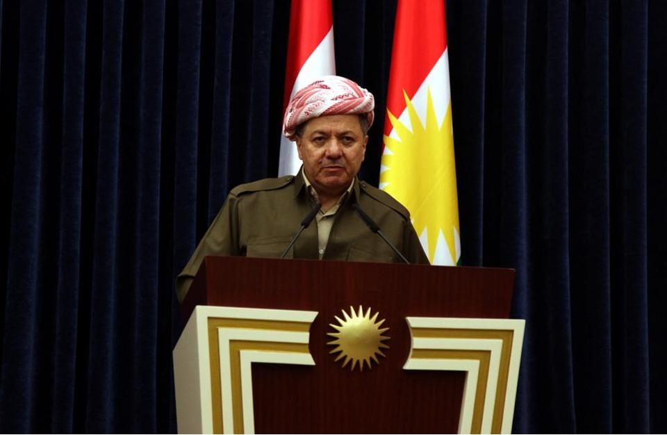 بارزاني لترامب: دماء الأكراد أغلى من المال والسلاح
