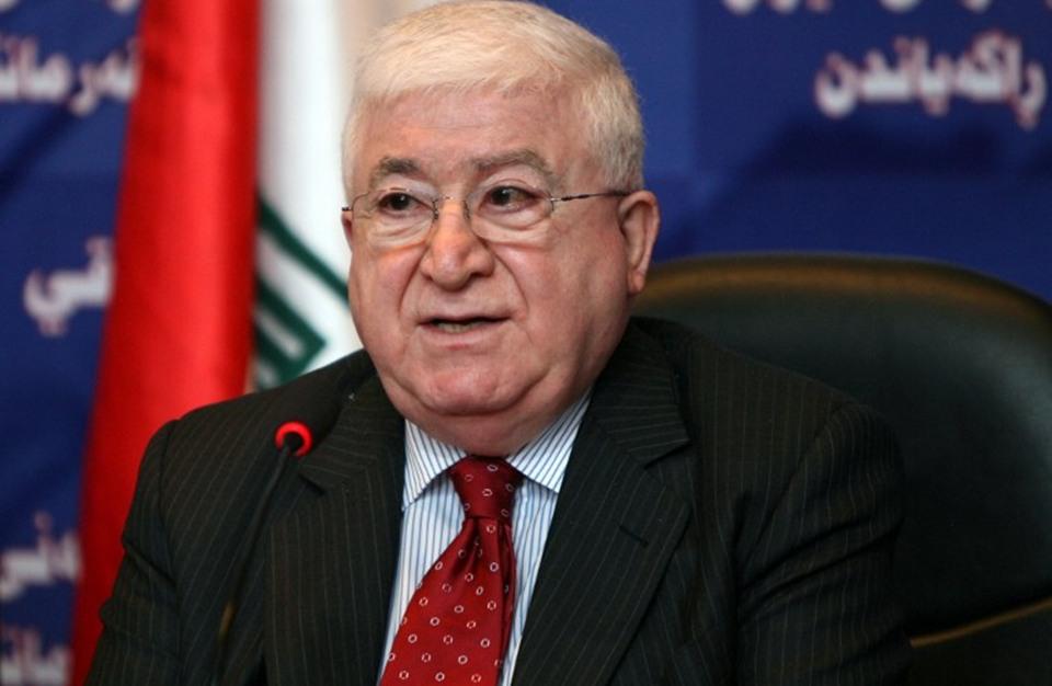 """معصوم يدعو برلمان العراق للانعقاد لتجنب ترك """"فراغ سياسي"""""""