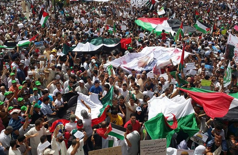 """غزة """"تحرر"""" الجزائريين بعد 13 عاما من الحصار"""