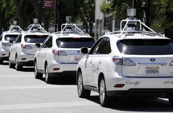 """""""غوغل"""" تختبر سيارتها الذكية في شوارع تكساس"""
