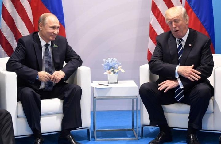 بوتين ردا على صحفي: ترامب ليس خطيبي