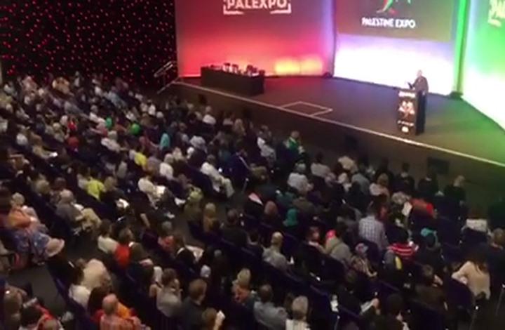 """نجاح لـ""""معرض فلسطين"""" بلندن رغم ضغط لوبي إسرائيل (فيديو)"""